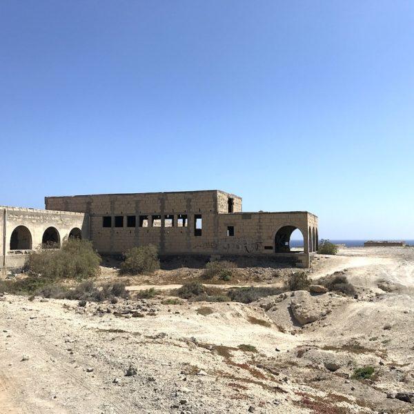 Geisterstadt Teneriffa Abades Gebäude