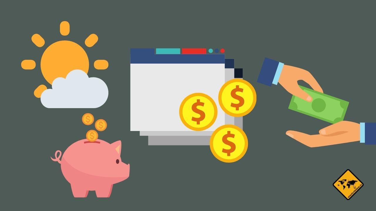 Geld verdienen als digitaler Nomade