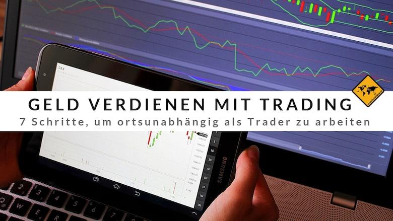 Geld verdienen durch Trading