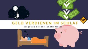 ▷ Geld verdienen im Schlaf 🤑 12 Wege, die bei uns funktionieren 🥇
