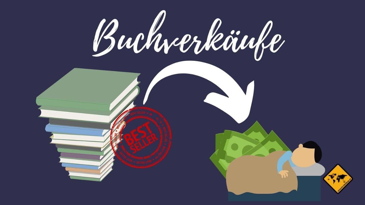 Geld verdienen im Schlaf Buch und E-Book Verkäufe