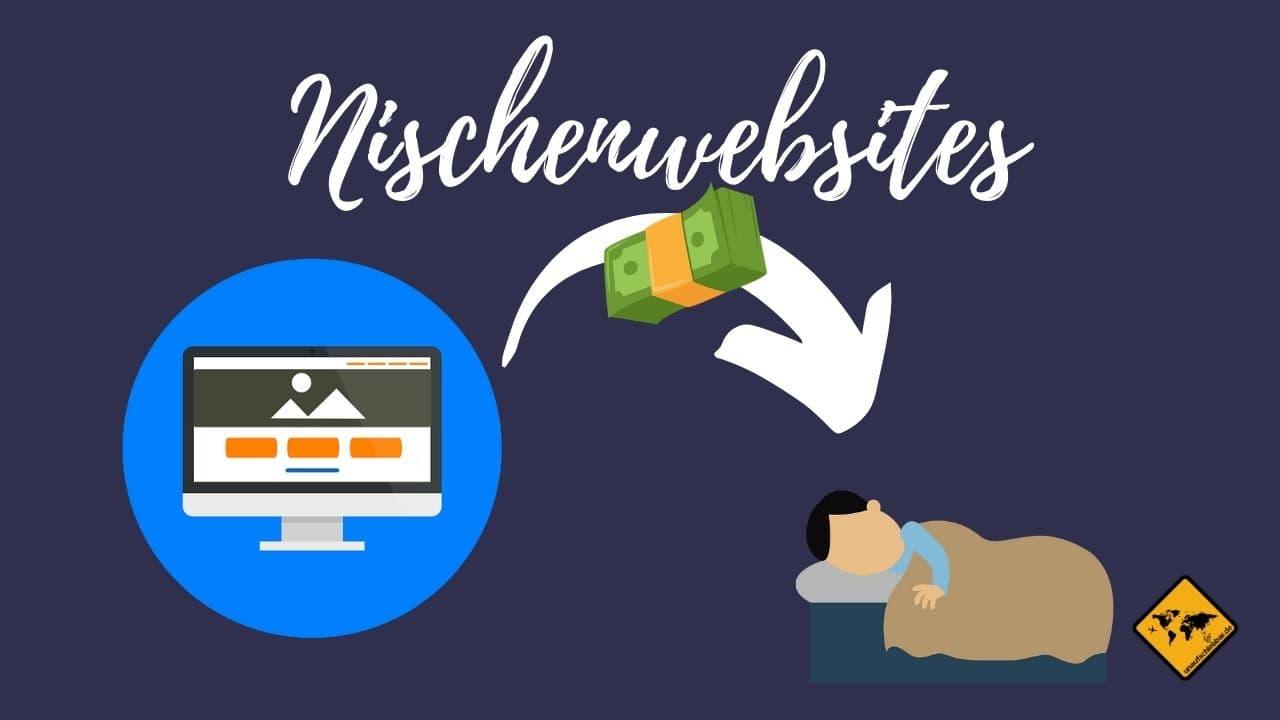 Geld verdienen im Schlaf Nischenwebsites