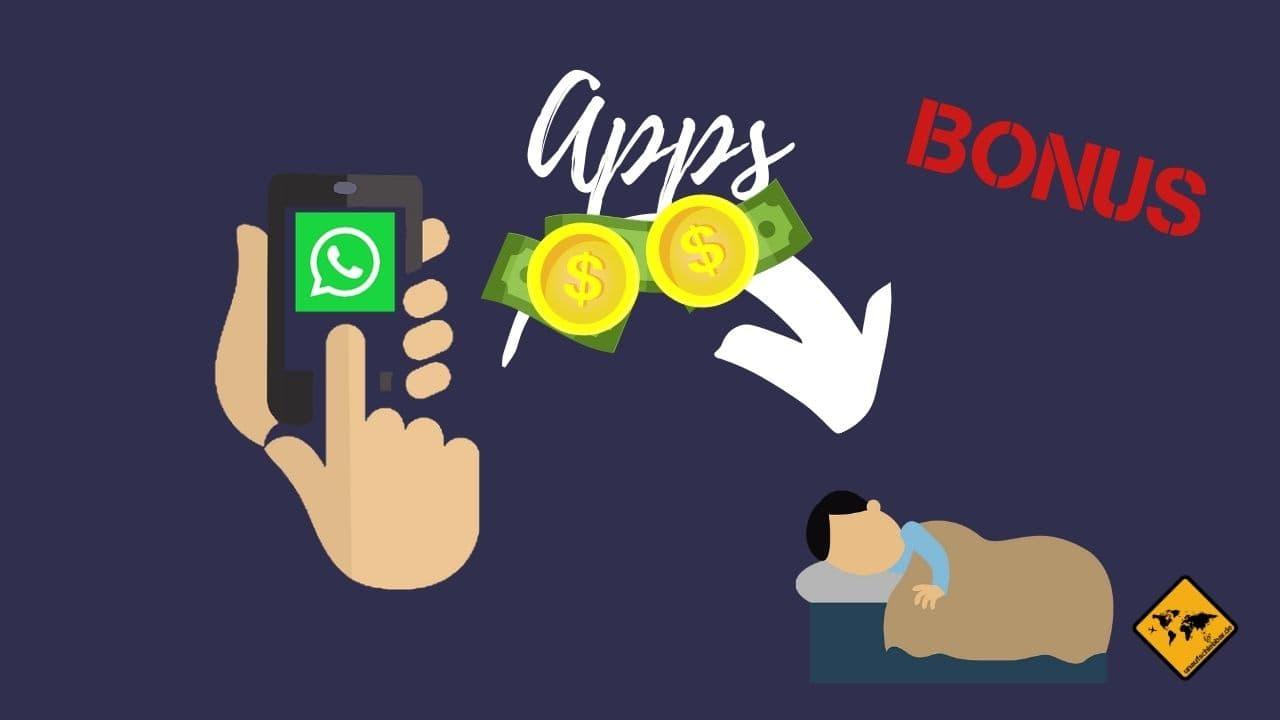 Geld verdienen im Schlaf mit Apps