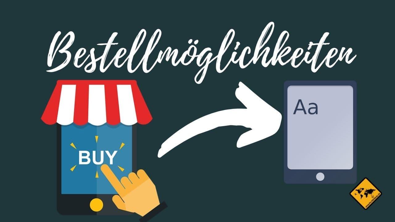 Geld verdienen mit eBooks online bestellen