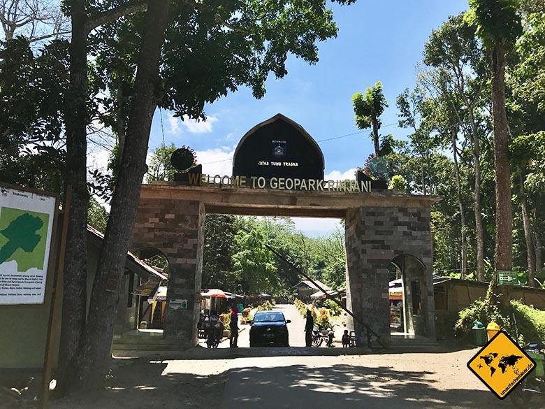 Geopark Rinjani Eingang