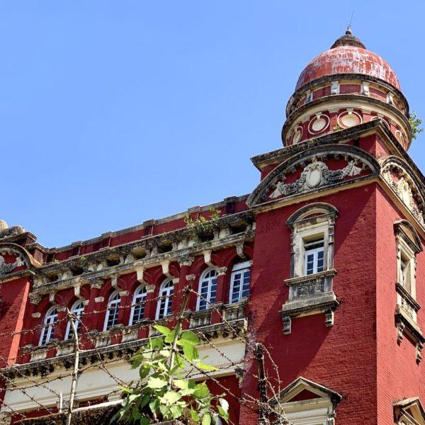 Gericht High Court Kolonialhaus Yangon Myanmar