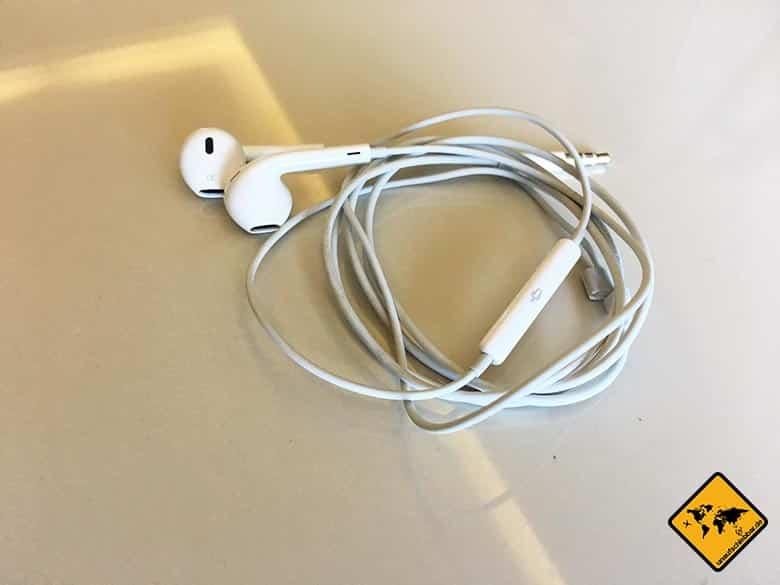 Geschenke für Reisende Reisegeschenke - Apple EarPods Ohrhörer