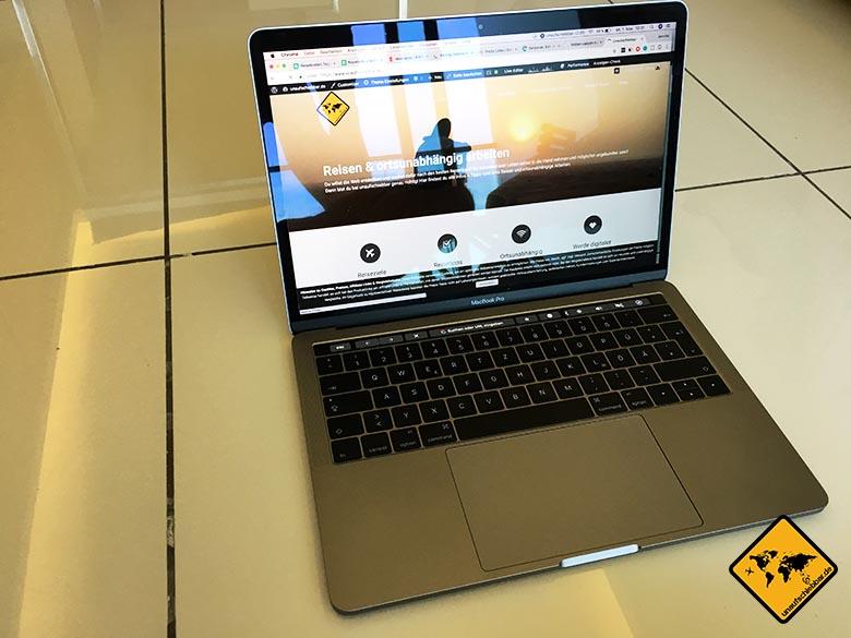 Geschenke für Reisende Reisegeschenke - Apple MacBook Pro 13
