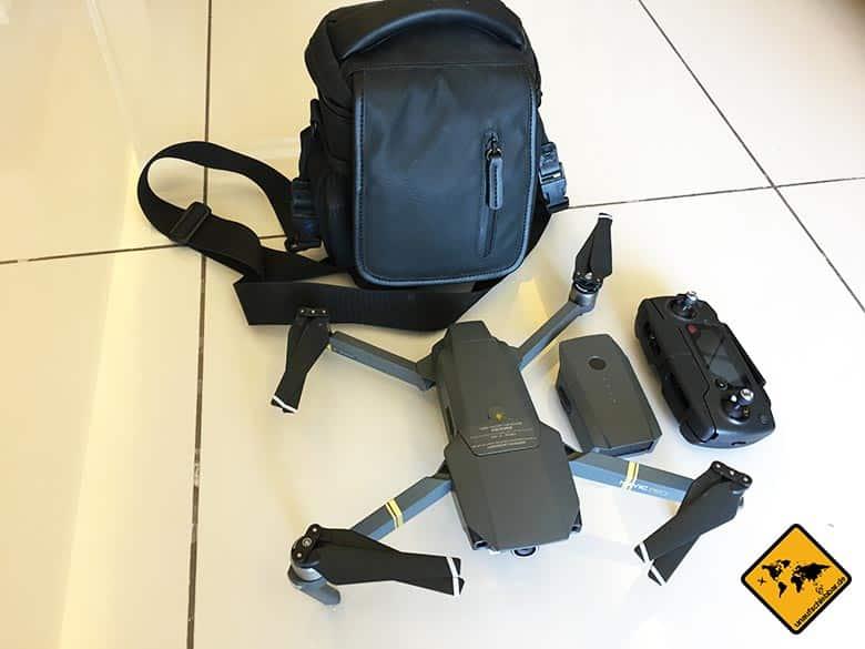 Geschenke für Reisende Reisegeschenke - DJI Mavic Pro Fly More Combo grau Reisedrohne