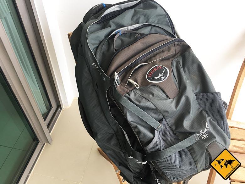 Geschenke für Reisende Reisegeschenke - Osprey Farpoint 70