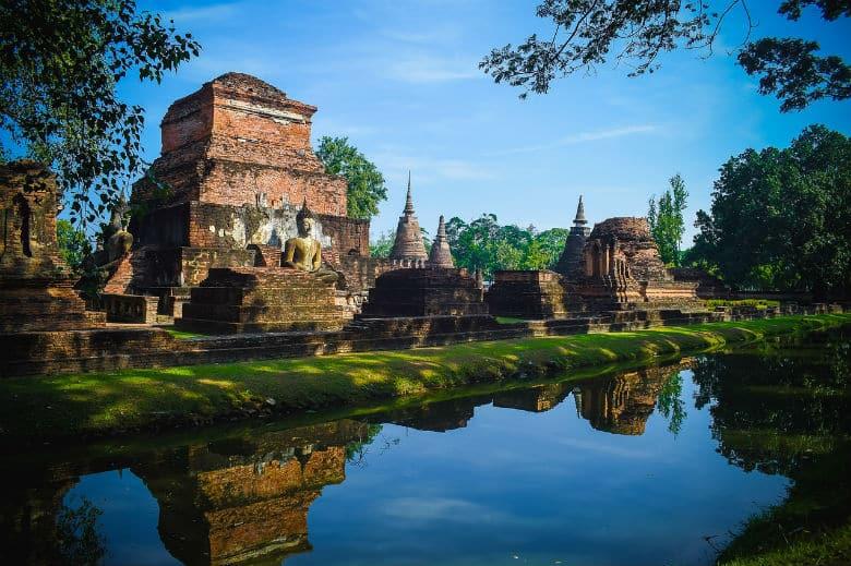 Geschichtspark Sukhothai Ambiente