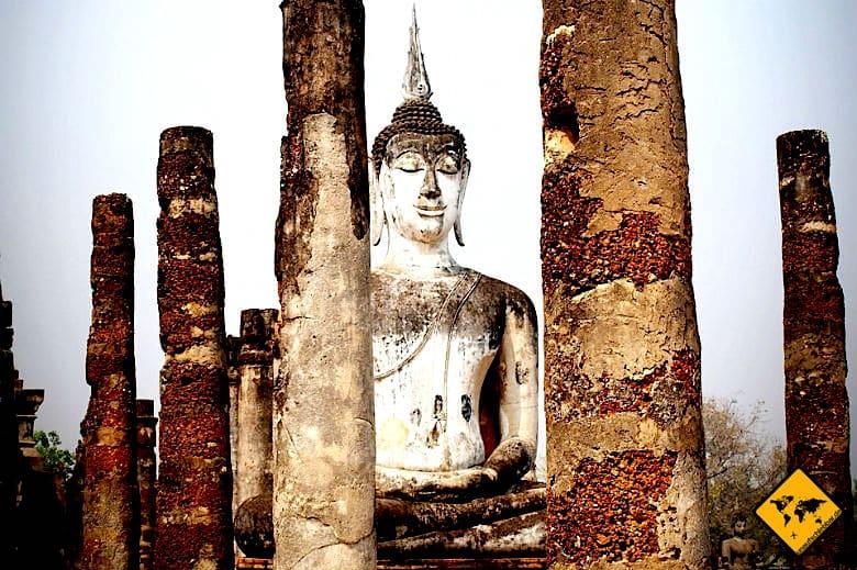 Geschichtspark Sukhothai Wat Mahathat