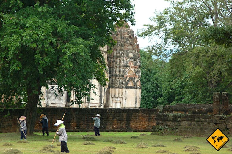 Geschichtspark Sukhothai Wat Si Sawai