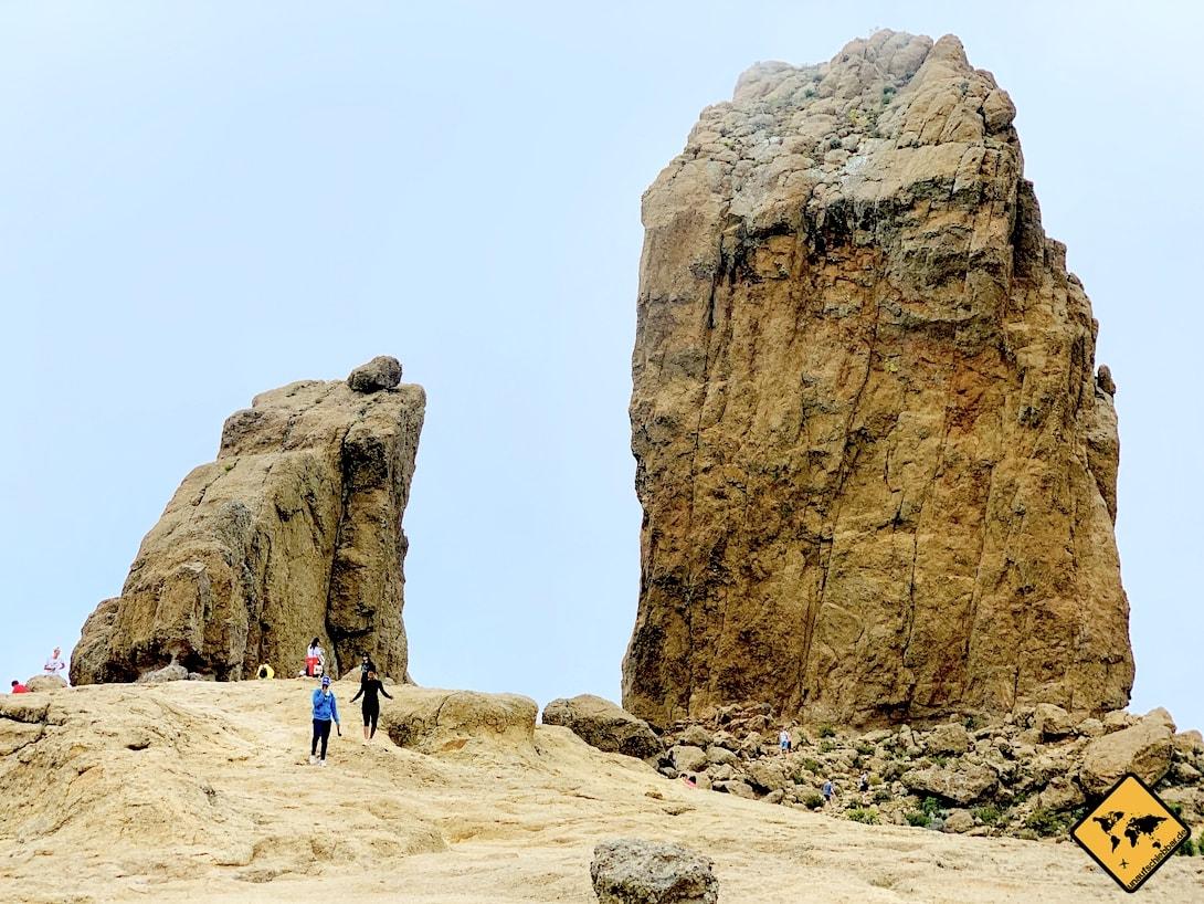 Gesteinsblock Roque Nublo Sehenswürdigkeiten auf Gran Canaria