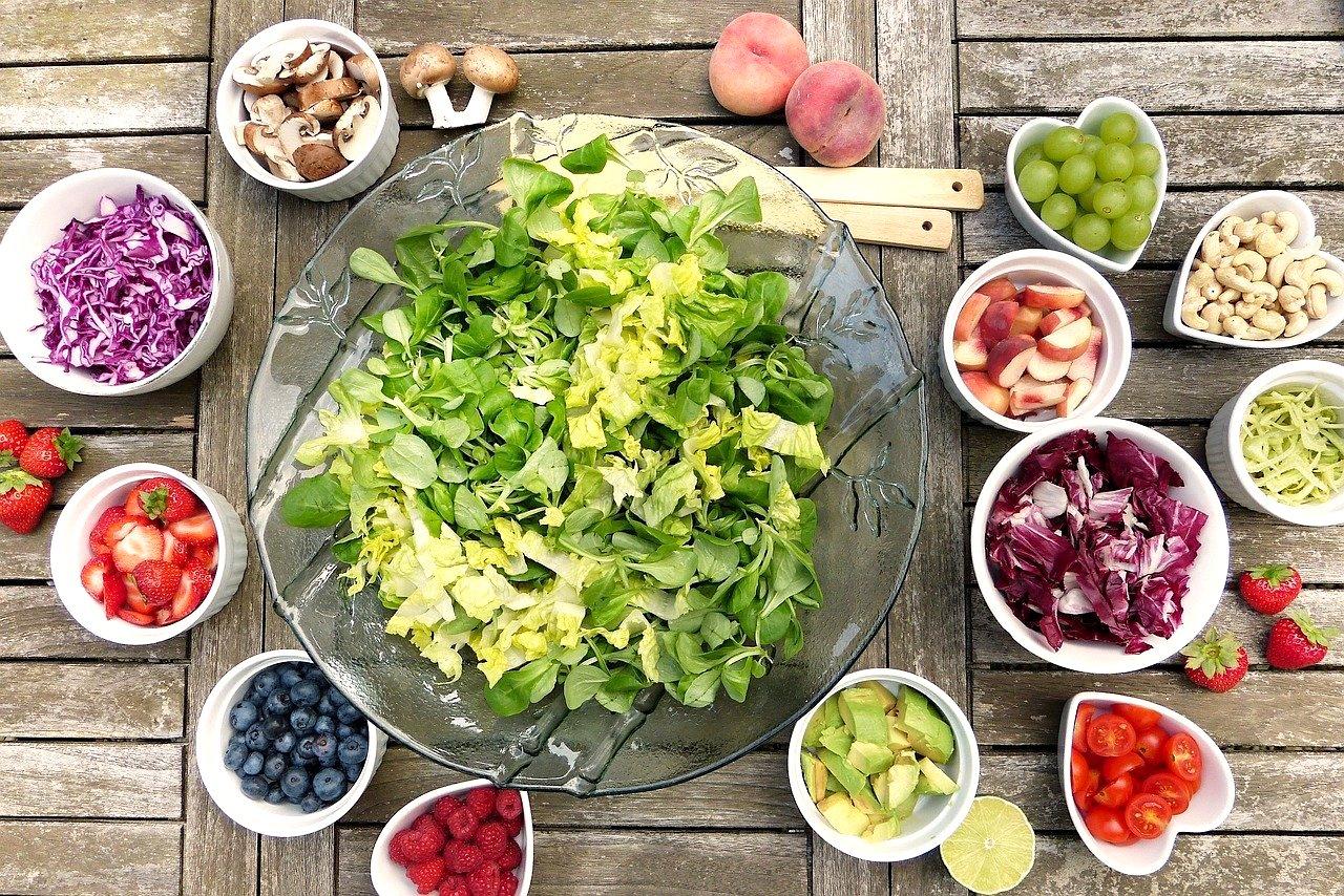 Gesunde Ernährung Obst Gemüse