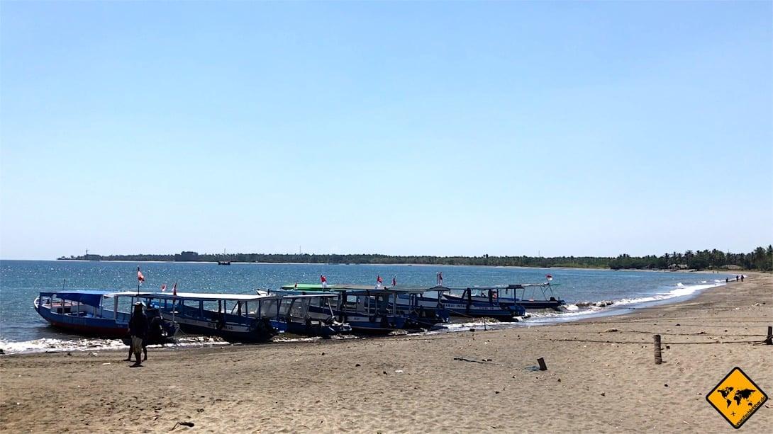 Gili Inseln Anreise Public Boat Hafen