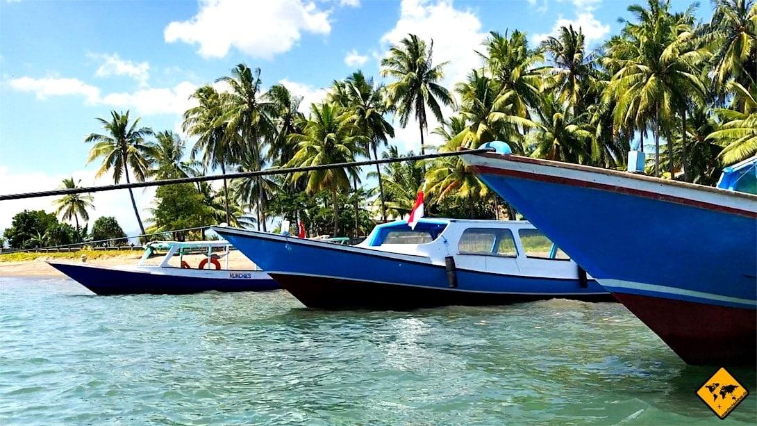Gili Inseln Anreise öffentliche Boote