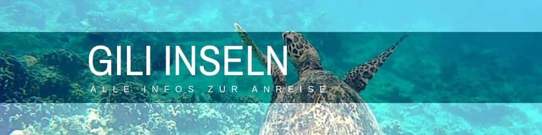 Gili Inseln Anreise von Bali