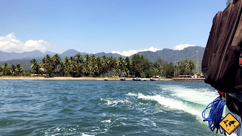 Gili Inseln Transfer Bangsal Hafen