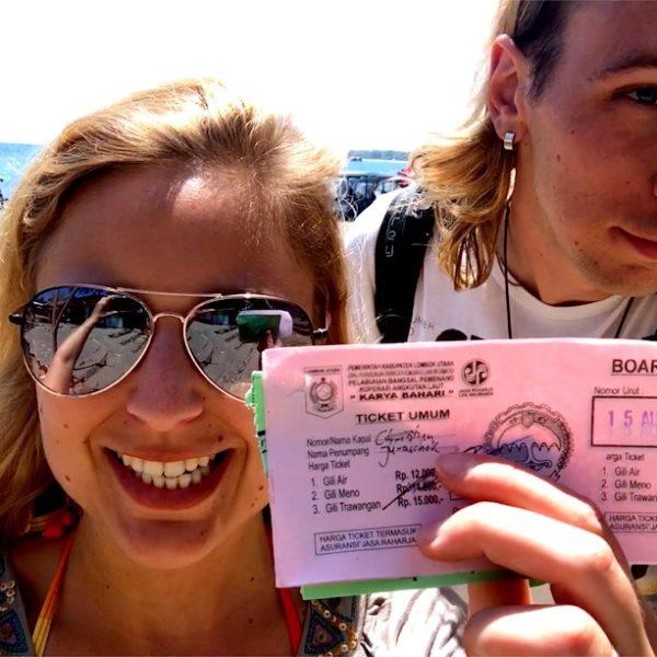 Gili Inseln Transfer Public Boat Ticket