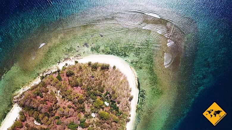 Gili Nanggu Nordküste