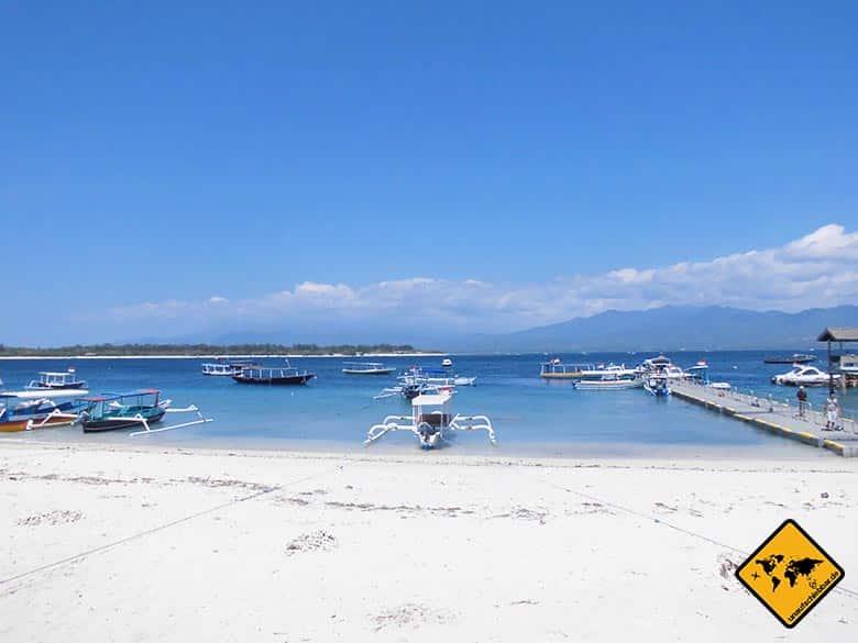 Gili Trawangan Beach Hafen