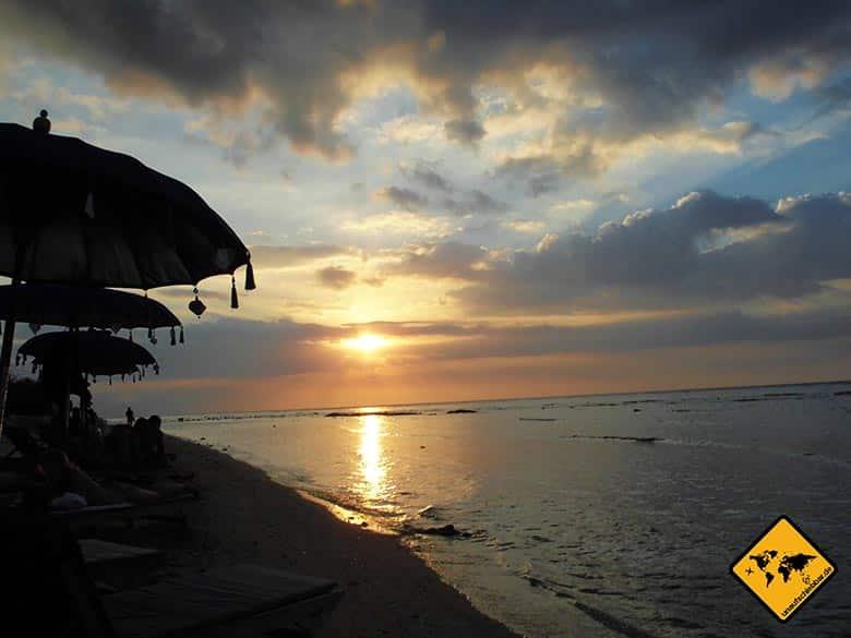 Gili Trawangan Sonnenuntergang