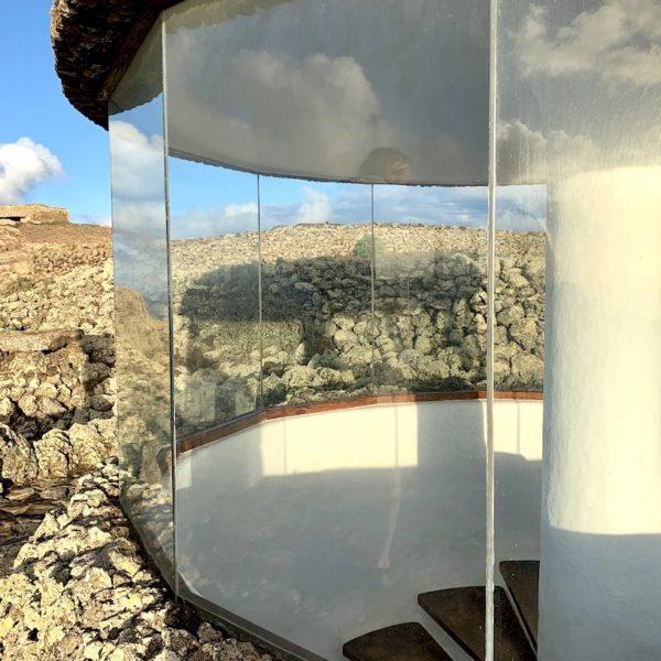 Glaspavillion Treppe Mirador del Río