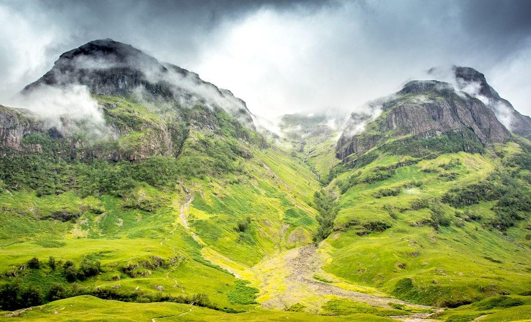 Glen Coe Valley Schottland