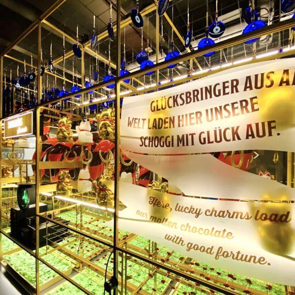 Glücksbringer Schokoladen-Herstellung Schweiz