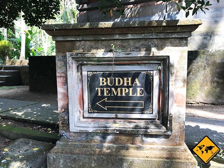 Goa Gajah Budha Temple