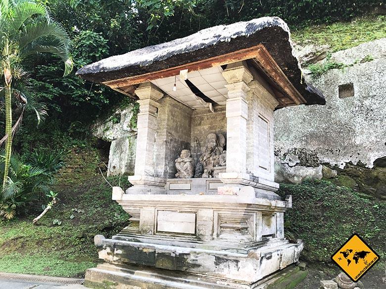 Goa Gajah Staturen