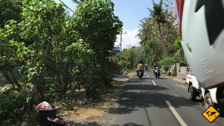 Goa Giri Putri Nusa Penida Anfahrt Roller