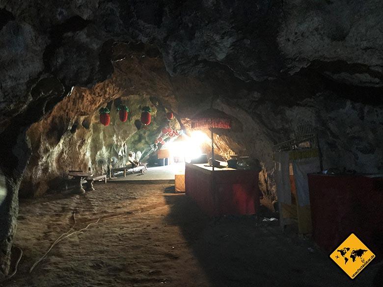 Goa Giri Putri Nusa Penida Höhle Ausgang