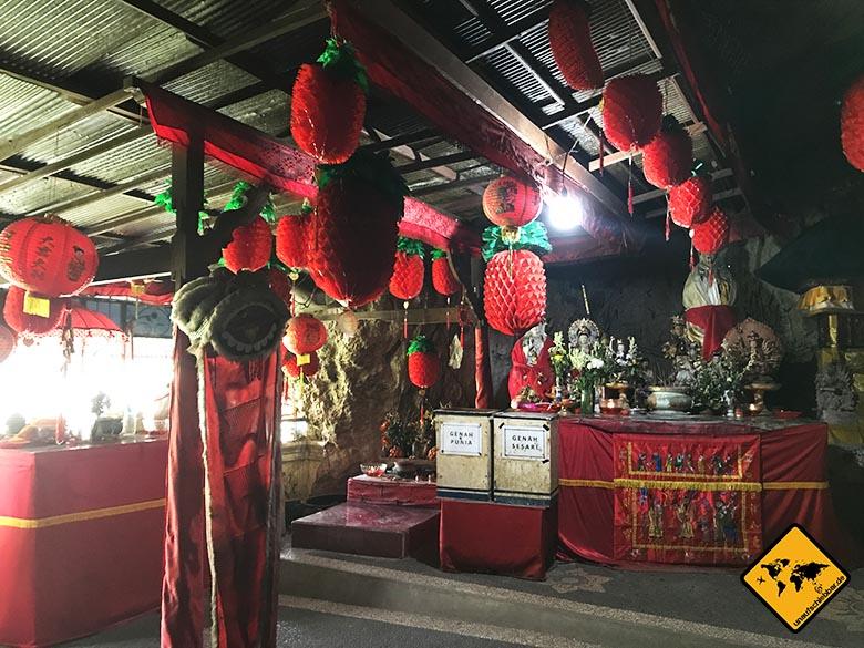 Goa Giri Putri Nusa Penida Tempel Ausgang