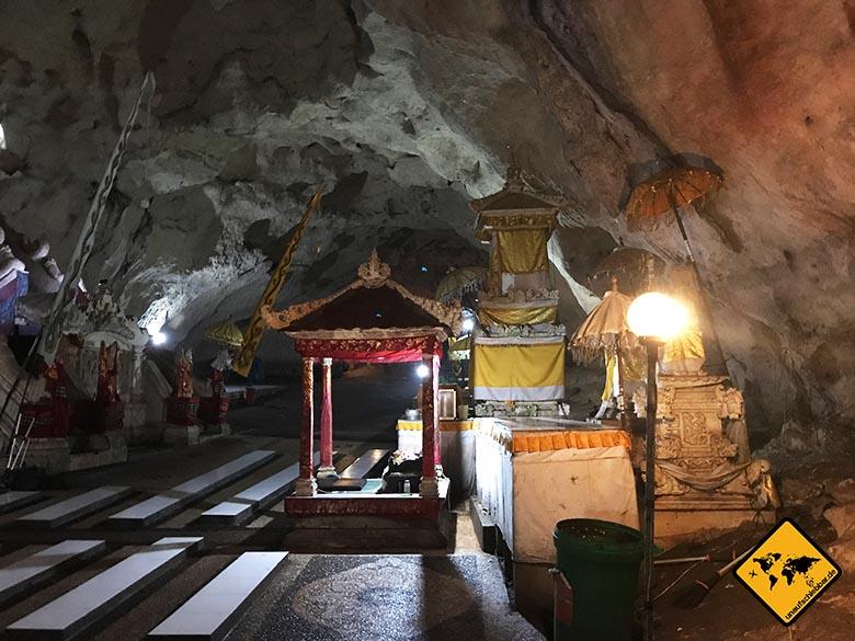 Goa Giri Putri Nusa Penida Tempel Einblicke