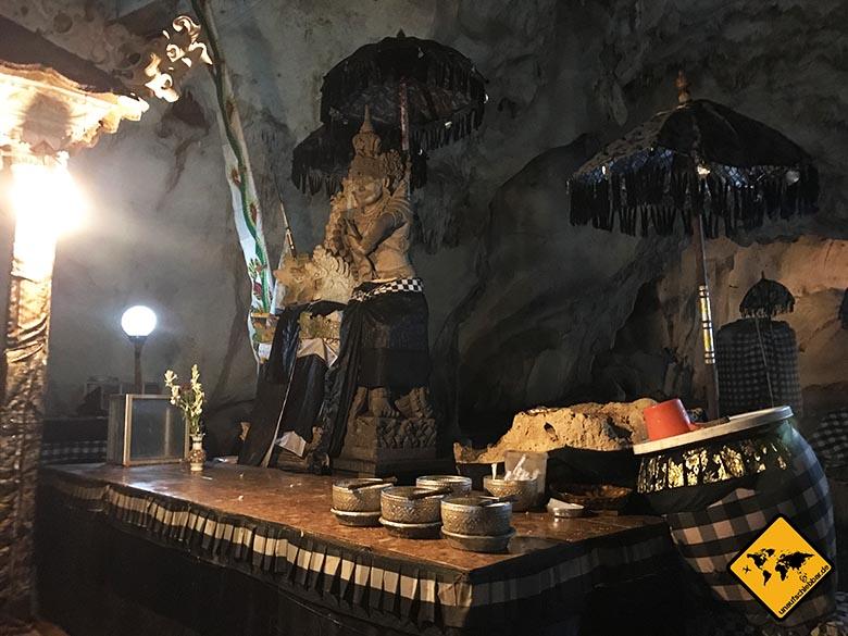 Goa Giri Putri Nusa Penida Tempel Impressionen