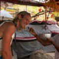 Goa Giri Putri Nusa Penida Wassersegnung