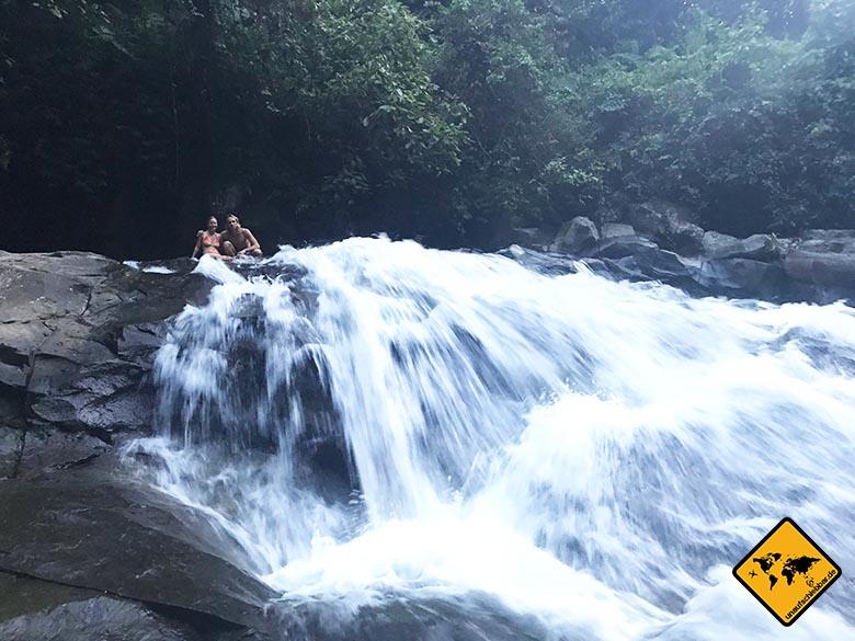 Goa Rang Reng Wasserfall Bali Trekking
