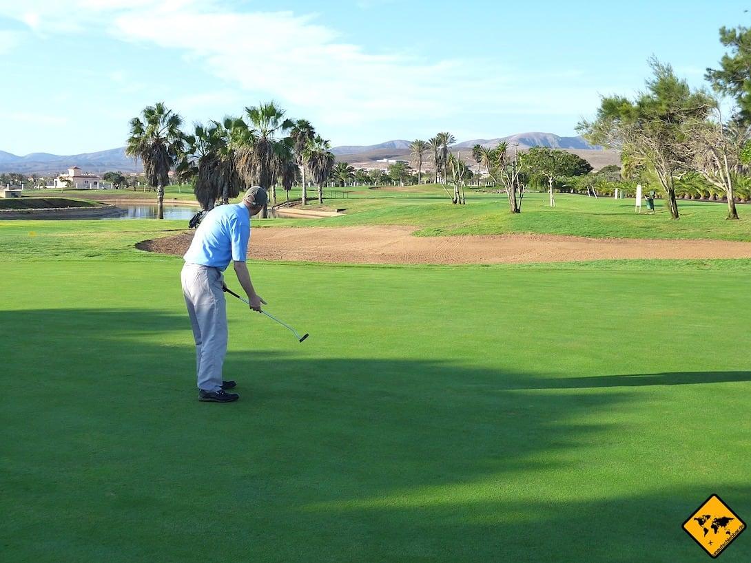 Golf spielen Morro Jable Fuerteventura