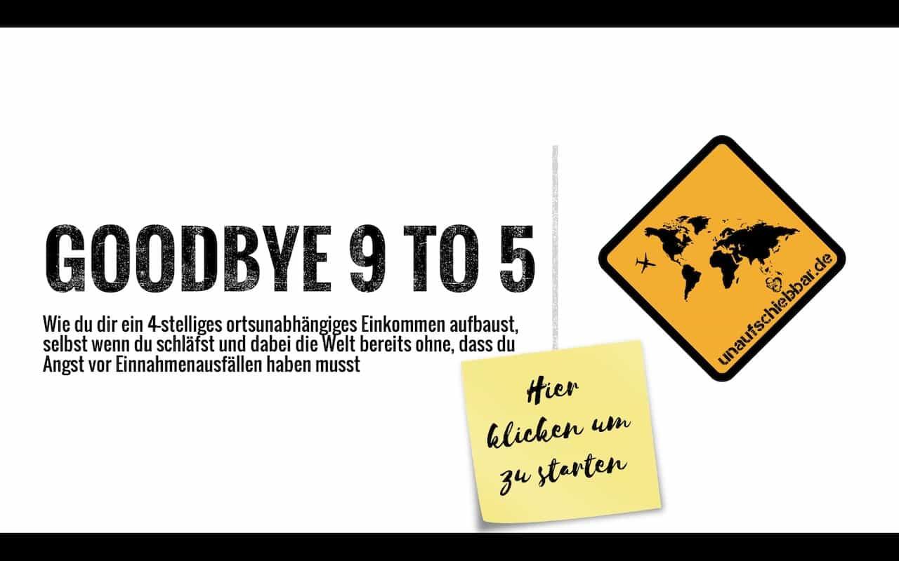 Goodbye 9 to 5 Webinar