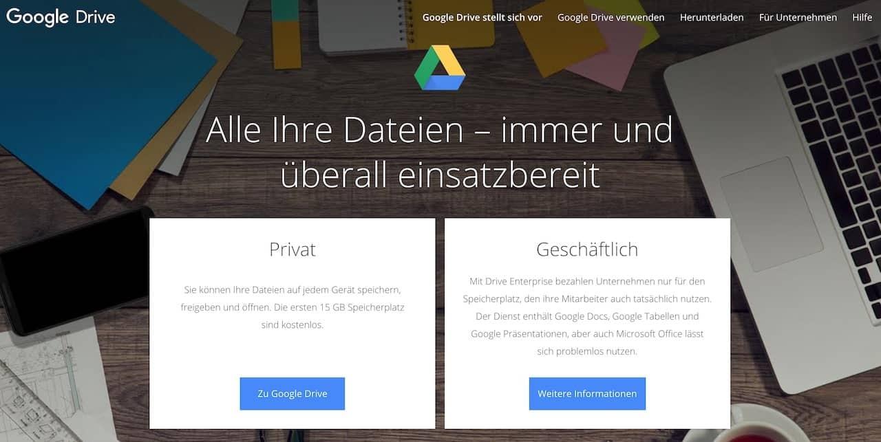 Google Drive remote work Tools