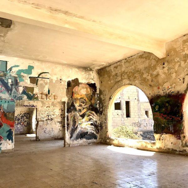 Graffiti Geisterstadt Abades