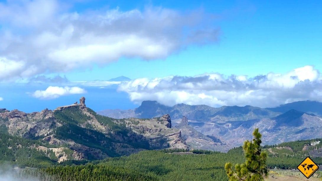 Gran Canaria Aktivitäten Pico de las Nieves Ausflug