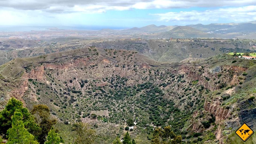 Gran Canaria Aktivitäten Vulkankessel Bandama