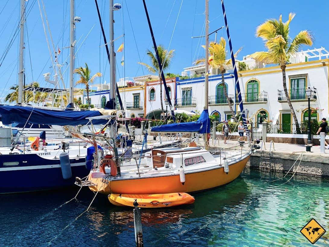 Gran Canaria Ausflüge Puerto de Mogán Hafen