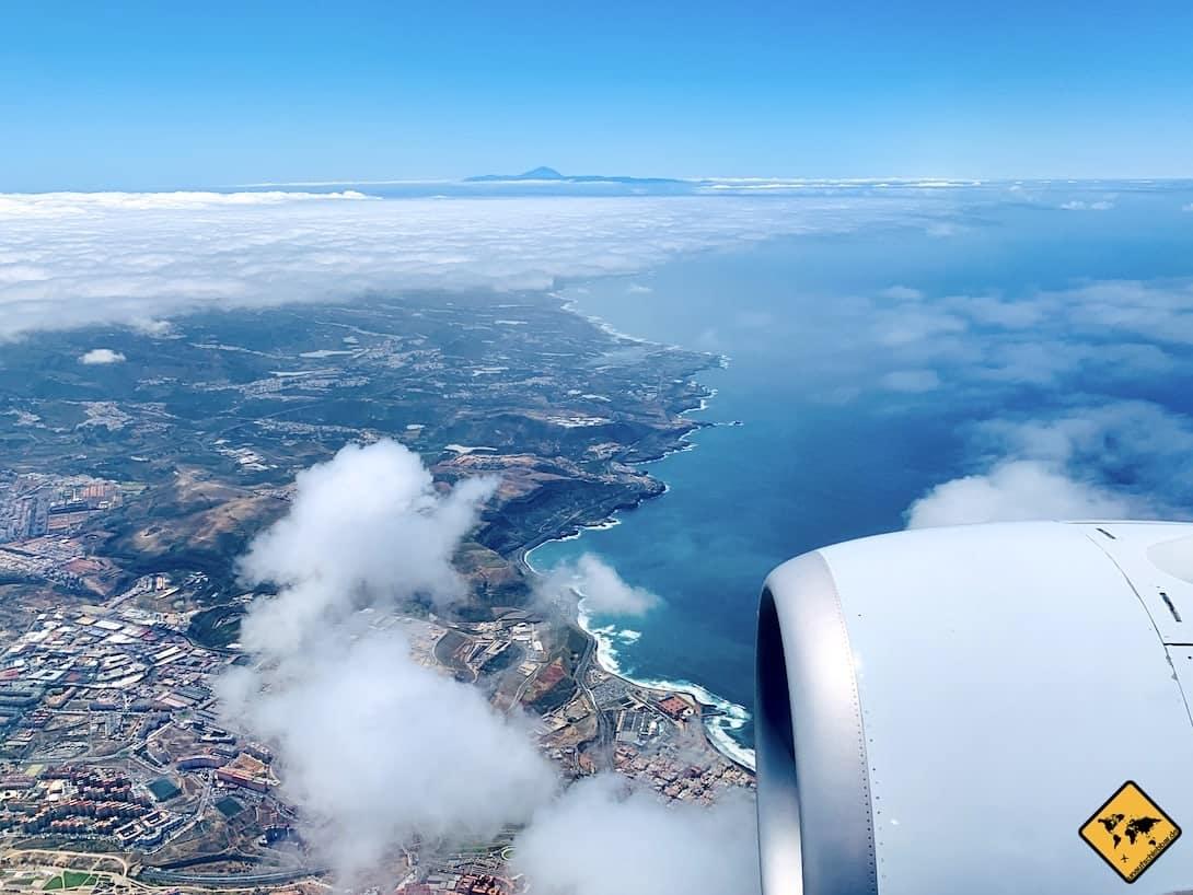 Gran Canaria Ausflüge Teneriffa Flug