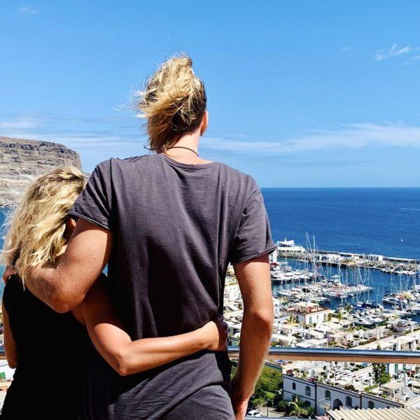 Gran Canaria Aussichtspunkt Puerto de Mogán