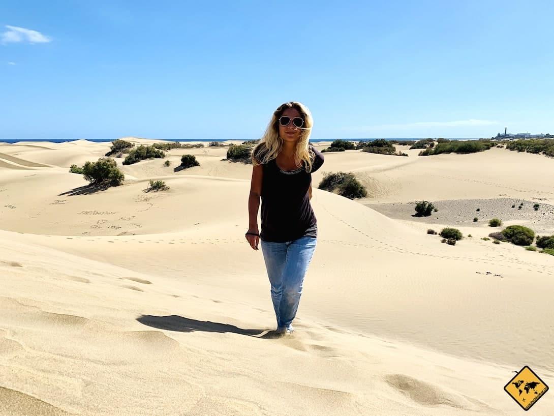 Gran Canaria Dünen Wanderung
