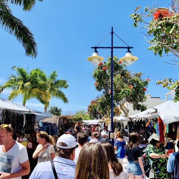 Gran Canaria Markt Puerto de Mogán